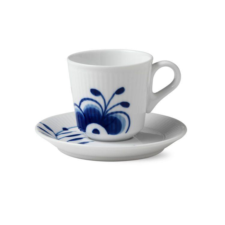 Royal Copenhagen Espressotasse - Blue Fluted Mega
