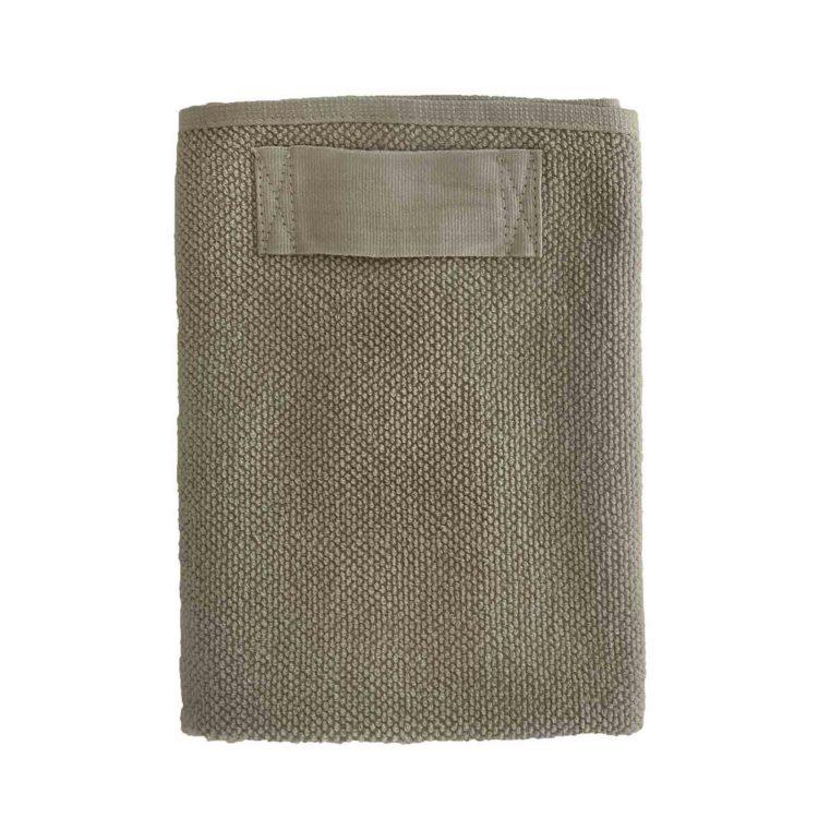 Beiges Handtuch von The Organic Company bei der Boutique Danoise