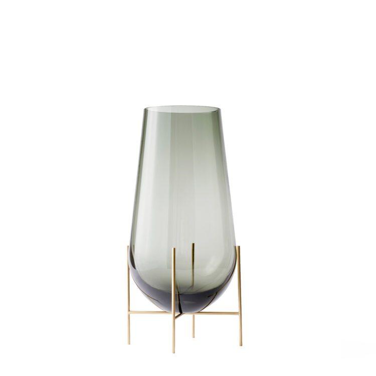 Kleine graue Menu Echasse Vase bei der Boutique Danoise