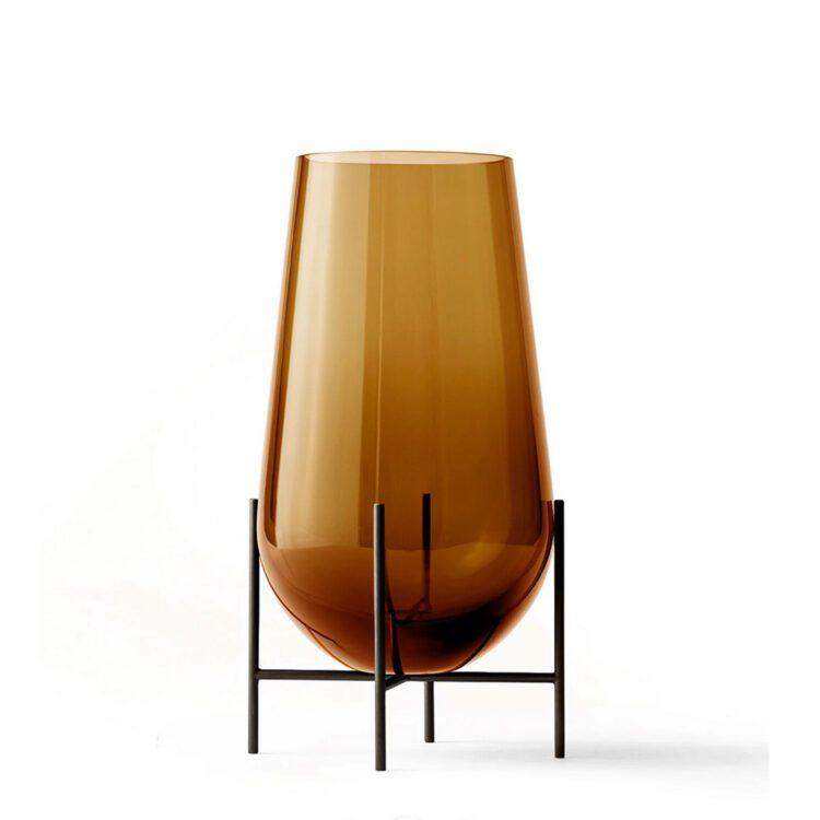 Braune Menu Echasse Vase bei der Boutique Danoise