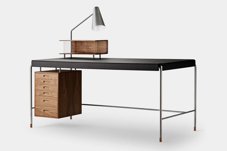 AJ52 16070 SOCIETY TABLE Schreibtisch Arne Jacobsen Boutique Danoise Basel Daenische Designer Moebel Accessoires Wohnen