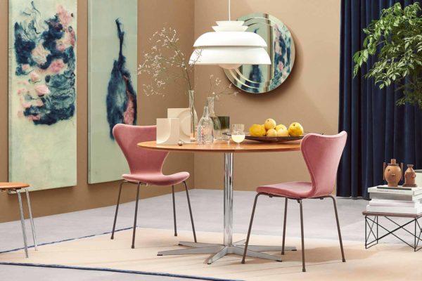 "Fritz Hansen ""SERIES 7™ Velvet-Edition"", Boutique Danoise Basel Daenische Designer Moebel Accessoires Wohnen News"