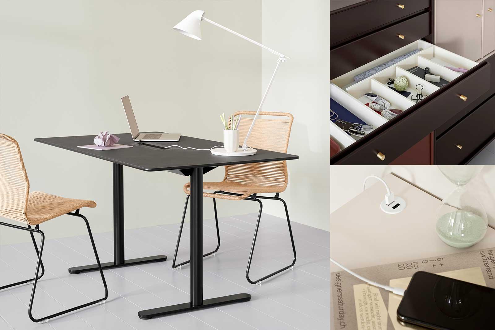 Montana Home Office Inspirationen, Boutique Danoise Basel Daenische Designer Moebel Accessoires Wohnen News