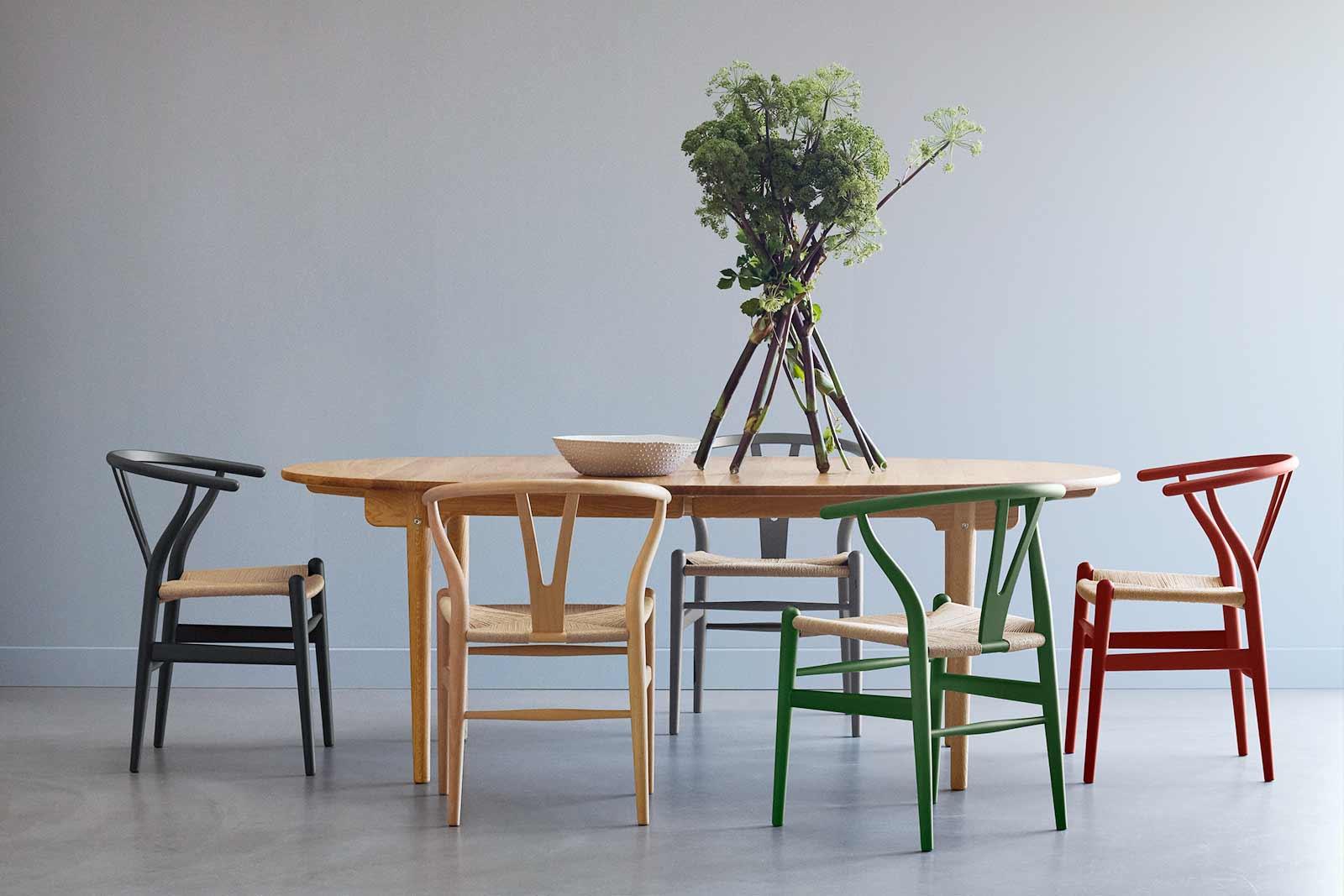 CH24 Soft Wishbone Chair Special Edition Boutique Danoise Basel Daenische Designe _Moebel Accessoires Wohnen News
