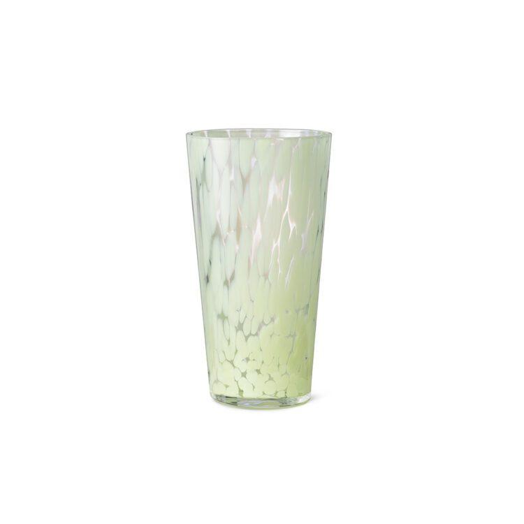 Grüne Ferm Living Vase Casca bei der Boutique Danoise