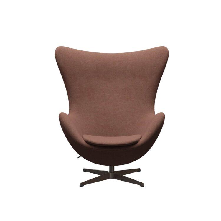 Der Egg-Sessel – in Beige und Orange