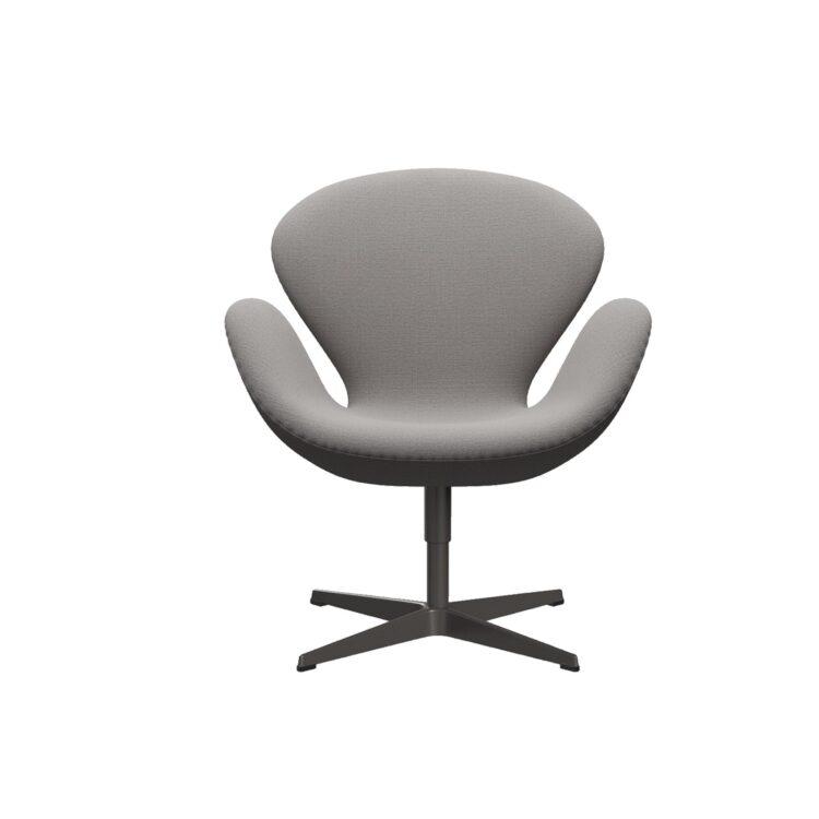 Der elegante Schwan-Sessel in Beige