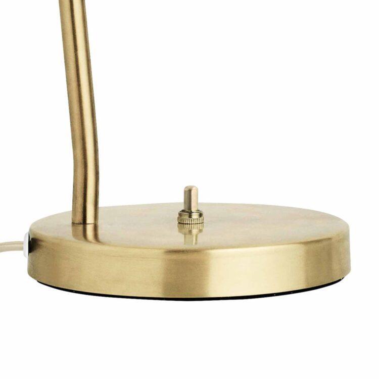 Gubi Grashoppa – Die auffallende Tischlampe Detail Knopf