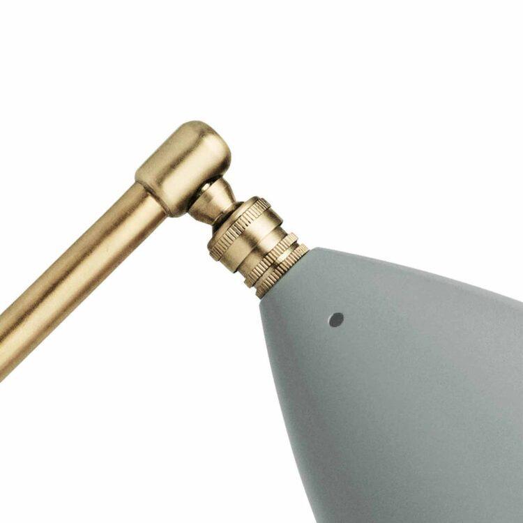 Gubi Grashoppa – Die auffallende Tischlampe Detail Schirm