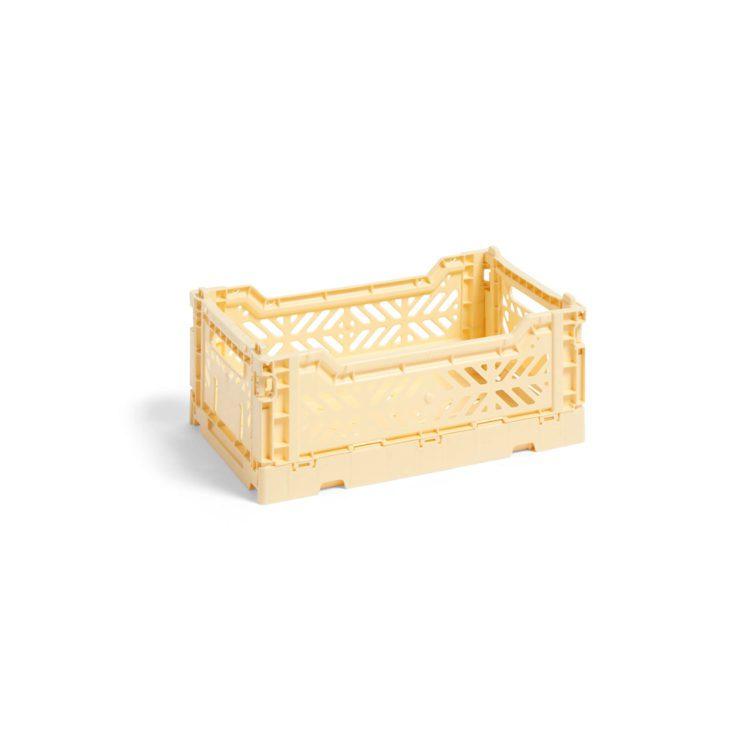 Gelbe HAY Colour Kiste bei der Boutique Danoise