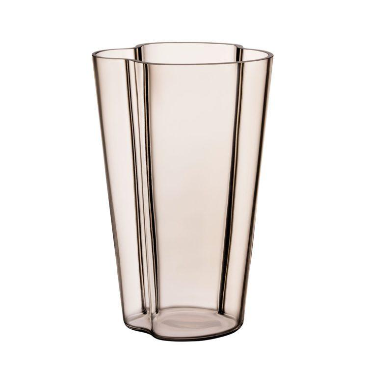 Hohe braune Alvar Aalto Vase bei der Boutique Danoise