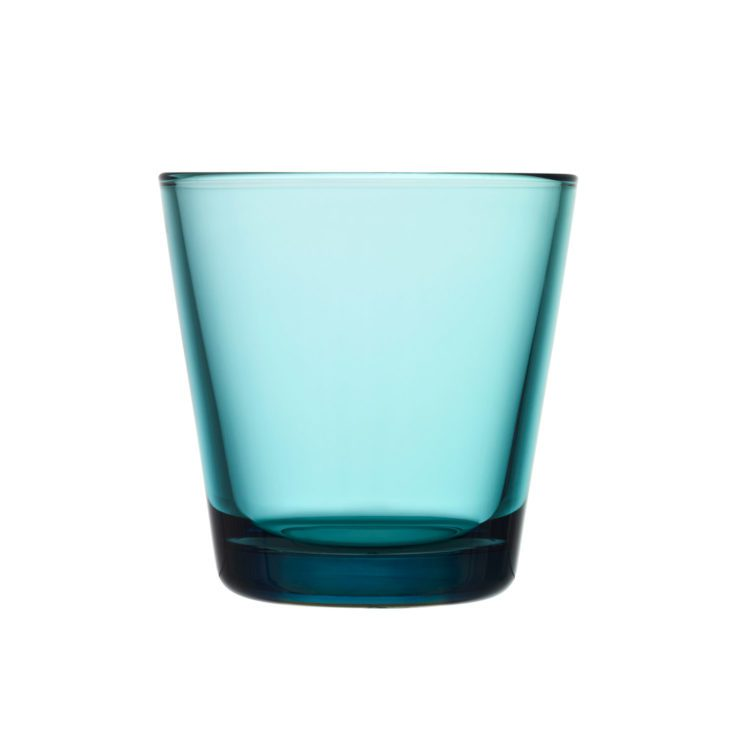 Meerblauer Iittala Kartio Becher bei der Boutique Danoise