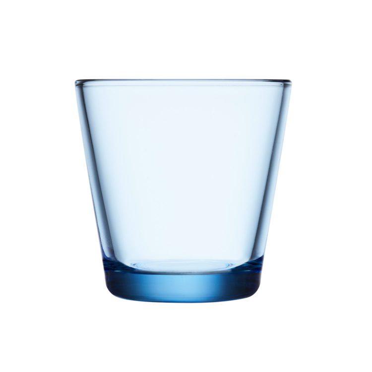 Blauer Iittala Kartio Becher - Wasser bei der Boutique Danoise