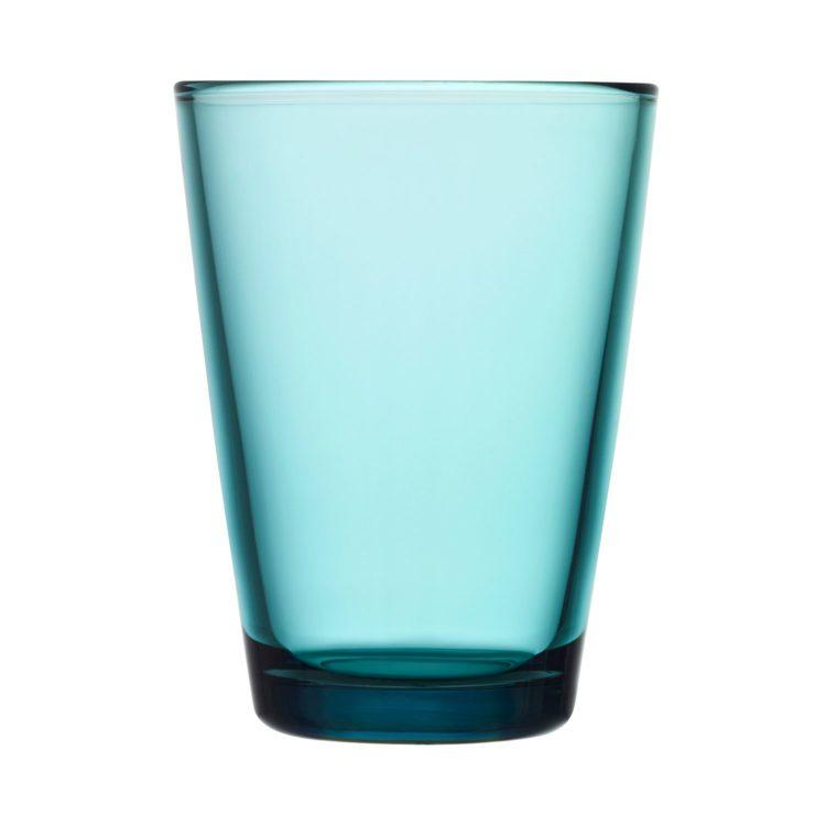 Meerblauer Iittala Kartio Becher 40cl bei der Boutique Danoise