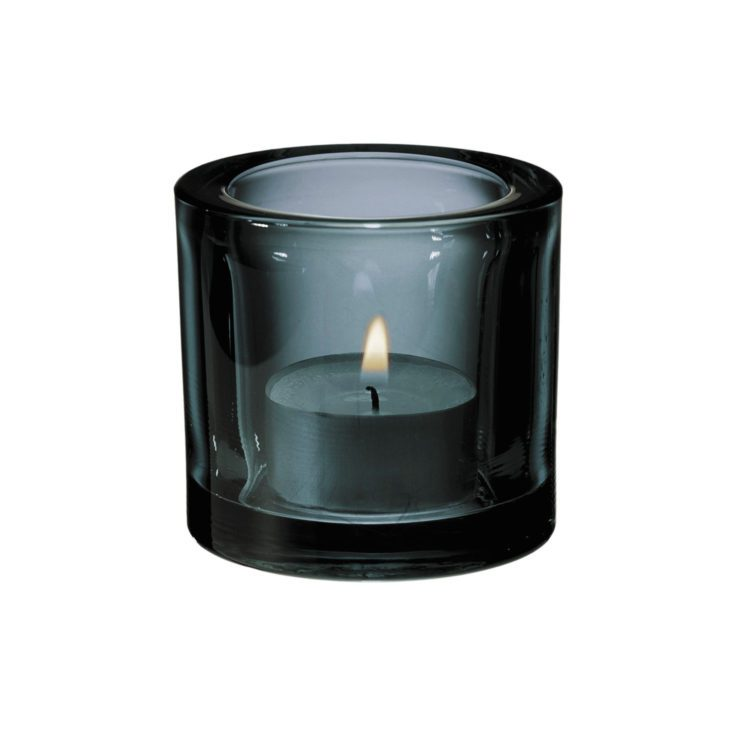 Graues Iittala Kivi Teelicht bei der Boutique Danoise