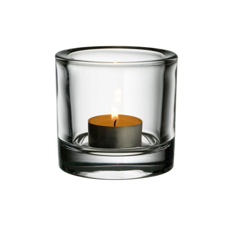 Transparentes Iittala Kivi Teelicht bei der Boutique Danoise
