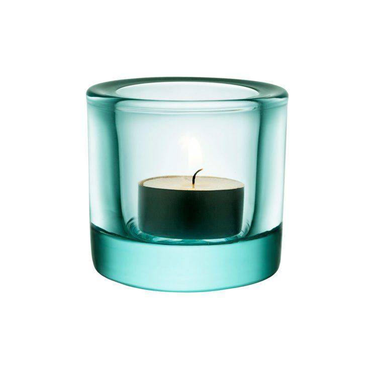 Grünes Iittala Kivi Teelicht bei der Boutique Danoise