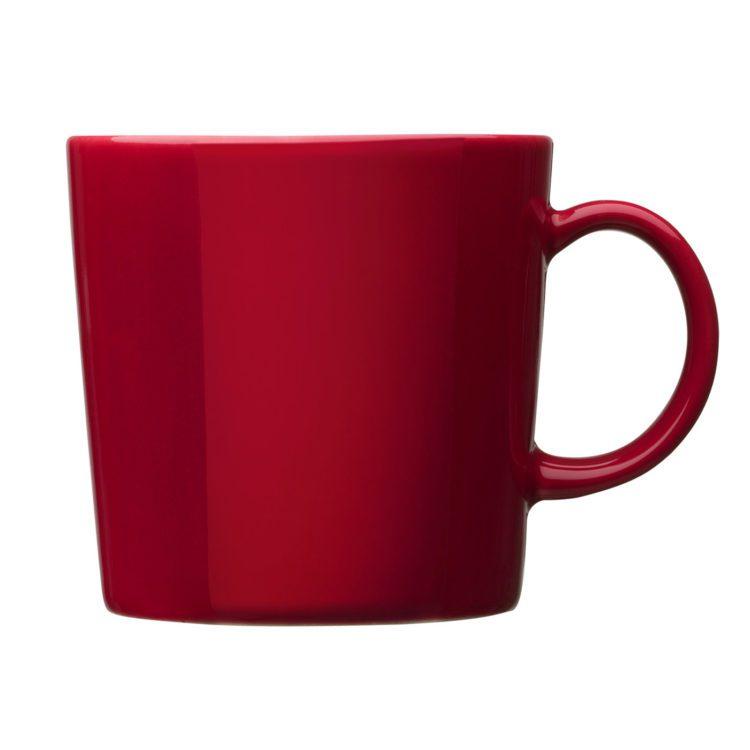 Roter Iittala Teema Becher 0.3l bei der Boutique Danoise