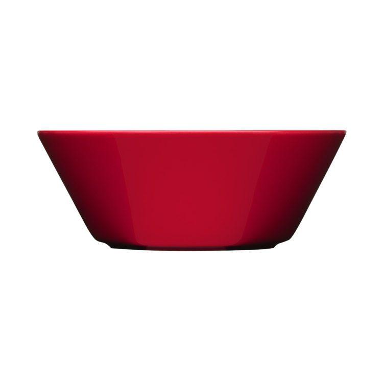 Rote Iittala Teema Schale 15cm bei der Boutique Danoise