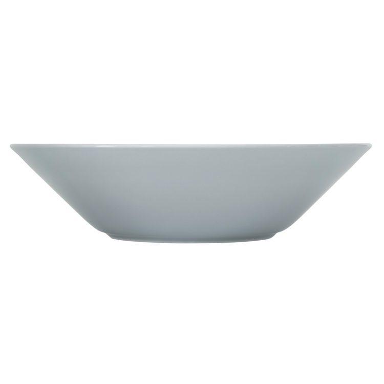 Perlgrauer tiefer Iittala Teema Teller 21 cm bei der Boutique Danoise
