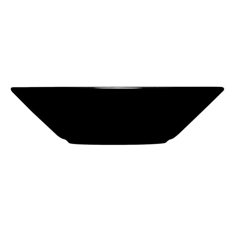 Schwarzer tiefer Iittala Teema Teller 21 cm bei der Boutique Danoise