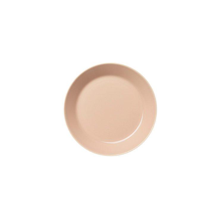 Kleiner puderfarbener Iittala Teema Teller 17 cm
