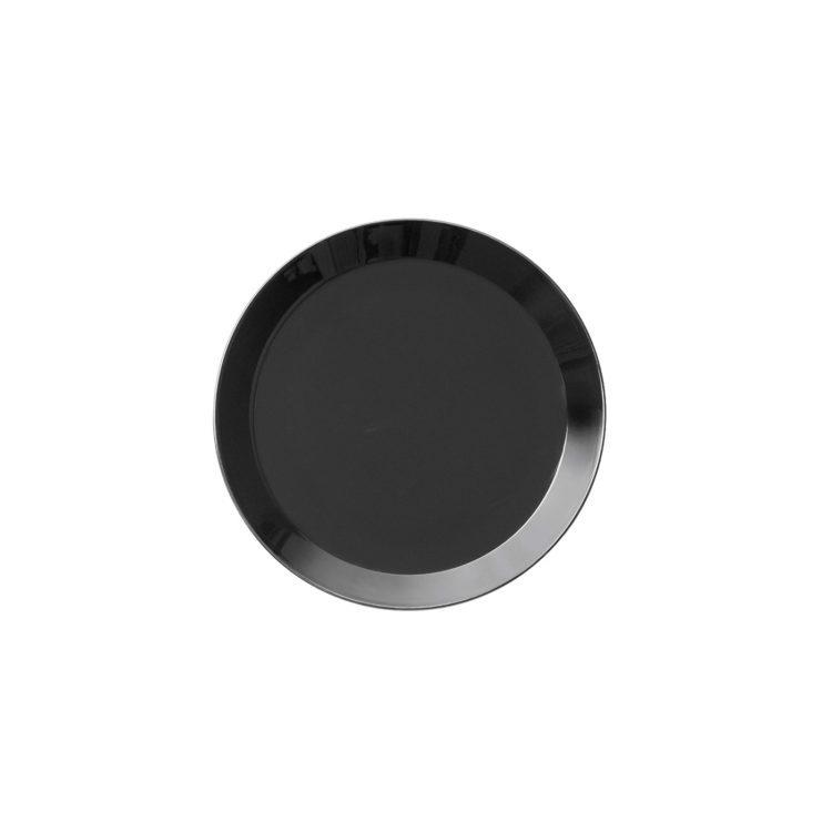 Kleiner schwarzer Iittala Teema Teller 17 cm