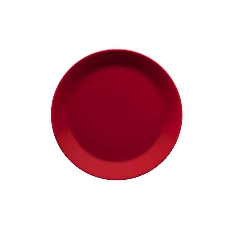 Roter Iittala Teema Teller 21 cm