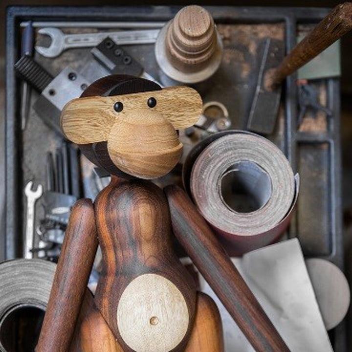 Kay Bojesen Holz Affe