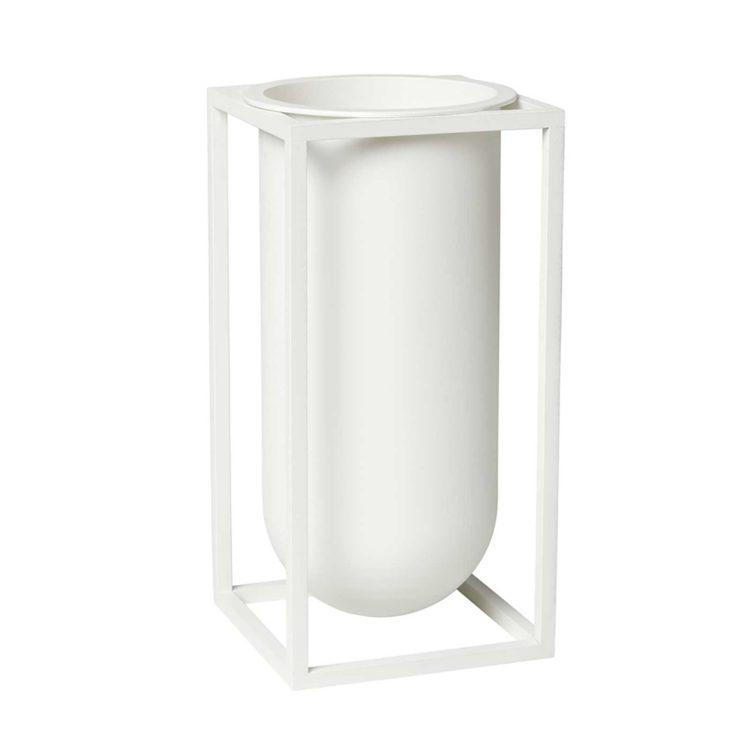 Weisse by Lassen Kubus Vase Lily bei der Boutique Danoise
