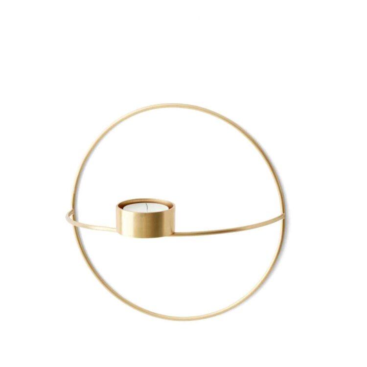 Kleiner Menu POV Circle Kerzenhalter bei der Boutique Danoise