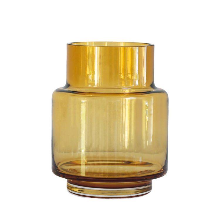 Ro HURRICANE Vase no. 53 - Amber