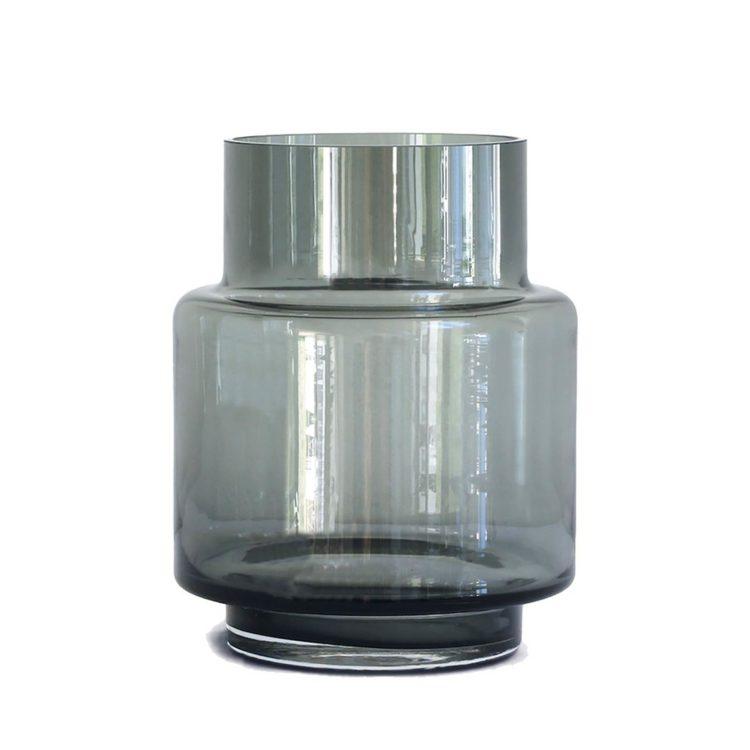 Ro HURRICANE Vase Smoked grey bei der Boutique Danoise