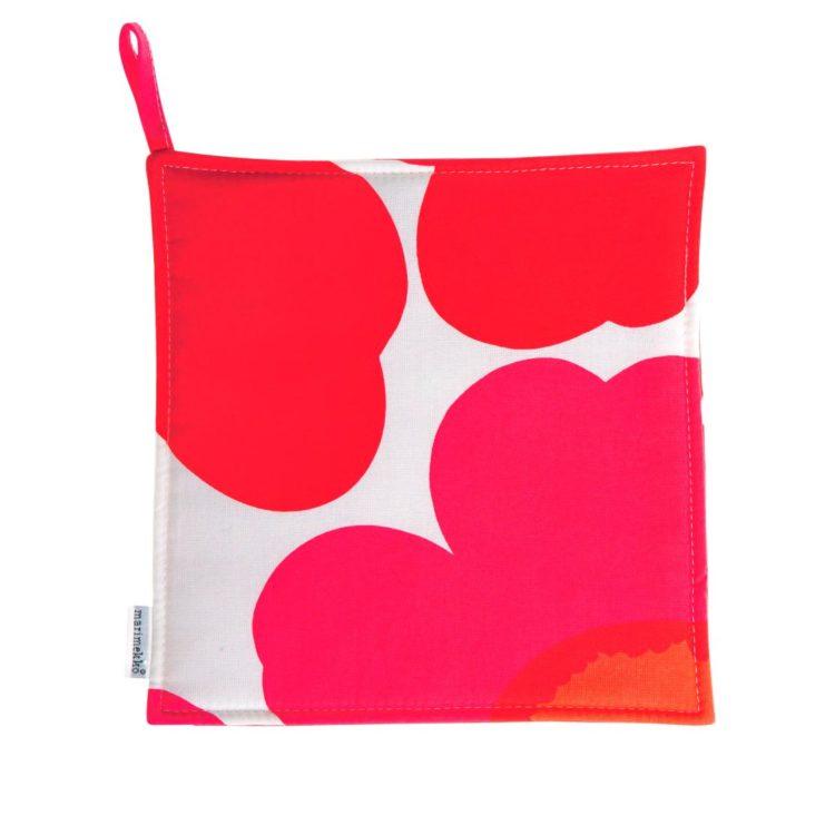 Roter Pieni Unikko Topflappen bei der Boutique Danoise