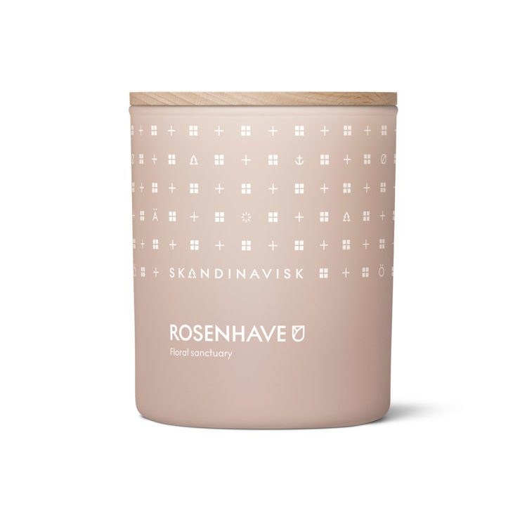 Skandinavisk ROSENHAVE Duftkerze bei der Boutique Danoise