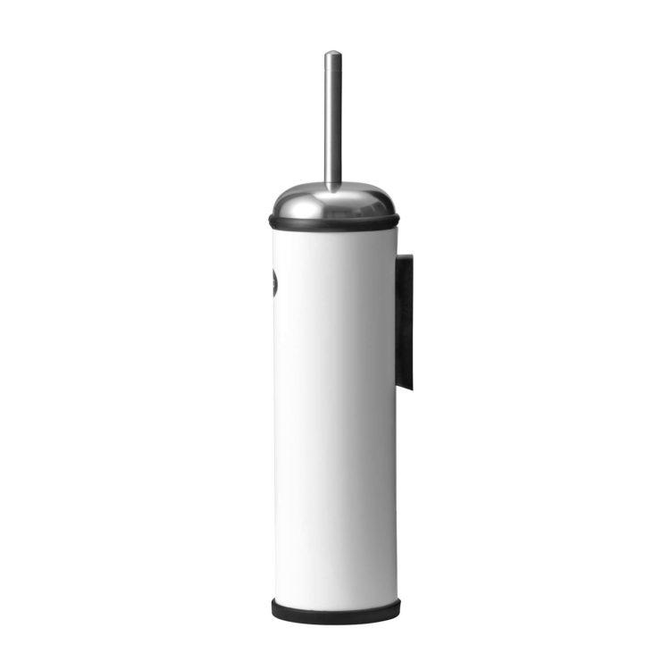weisse wandmontierte Vipp Toilettenbürste bei der Boutique Danoise